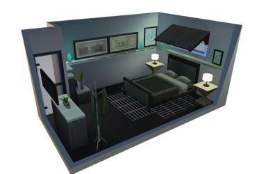 Modern Schlafzimmer | by MagicMoonSims3